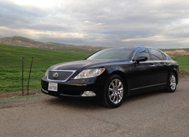Rent Lexus LS 460 L in Redlands