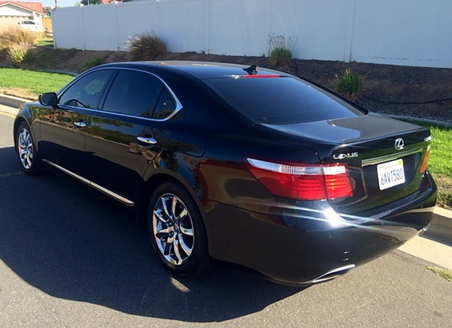 Lexus LS 460 L in Redlands