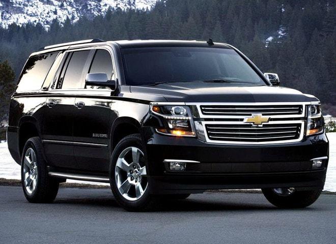 Chevy Suburban Luxury SUV