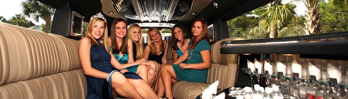 Bachelorette Limousine Service in Redlands